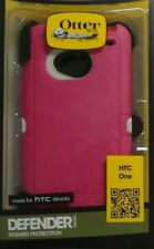 OtterBox Defender Case with Belt Clip Holster for HTC One Pink 77-26419