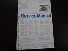 Original Service Manual Philips 22RH845