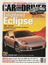Car & Driver May 1999 - Ford Excursion - Mitsubishi Eclipse - Ferrari F50 - Neon