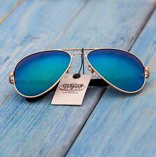 Blue aviator sunglasses, MATRIX 2017 polarized
