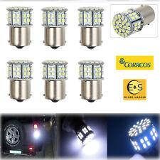 10/6x Bombillas LED Bulbs Luz de Marcha Atrás BA15S 1156 50SMD Freno Lámpara Kit