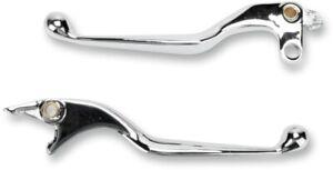 Aluminum Hyd. Brake/Clutch Lever Set Chrome 7429 For Honda VTX Shadow Valkyrie