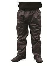 Blackrock Hombre Cotswold Impermeable Pantalones para la lluvia negro pequeño