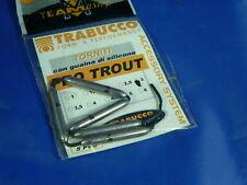 5 Piombini Trabucco pro trout 3 gr tubo silicone pesca trota in lago, torrente