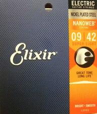 Elixir Strings Nanoweb Electric Guitar Strings Super Light 009-042