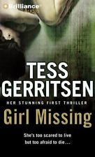 Girl Missing by Tess Gerritsen (2013, CD, Abridged) Audiobook Good Condition