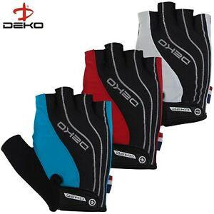 Deko Half Finger Cycling Gloves Fingerless Mitts Bike Riding bicycle sports 103