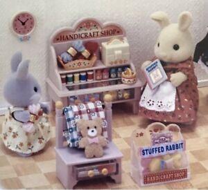 Sylvanian Families / Calico Critters Vintage -RARE- Handicraft Shop