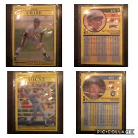Set Of 7 Ultra Rare 1991 Fleer Error Baseball Cards