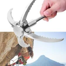 Grappling Hook Folding 4 Claws Outdoor Gear For Survival Climbing Removal Hft