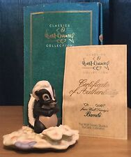 Wdcc / Walt Disney Classic Collection Bambi Oh...Gosh! Skunk Boxed & Coa