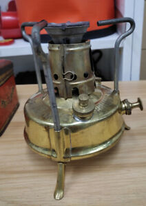 Old Vintage Brass PRIMUS NO.97  Kerosene Stove made in Sweden
