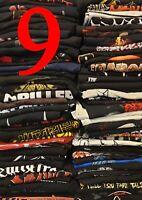 METAL BAND SHIRT aus Sammlung Auflösung 9 Gore Grind Death Crust Thrash Shirts