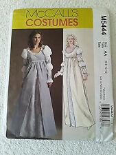 Renaissance Cosplay Festival Pattern McCalls M5444 Gown Costume Sz 6-12 Womens