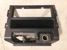 OEM USDM 88-91 Honda CRX DX HF Si SH2 Center Radio Console Black Shell Bezel