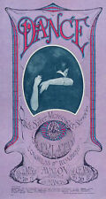 1967 MOUSE KELLEY QUICKSILVER CHARLATANS FAMILY DOG FILLMORE POSTER FD 96 MINT