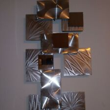 New ListingArt Deco Mirror Wall Hanging Silver