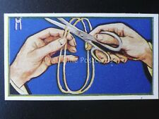 No.7 HOW TO JOIN STRING IN YOUR MOUTH Puzzle Series by R & J Hill Ltd 1937