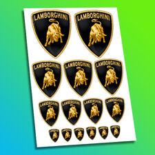 LAMBORGHINI Voiture de course autocollants stickers badge logo Aventador HURACAN