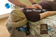 NEW EarthLite Home Massage Kit w/ Facecradle and DVD