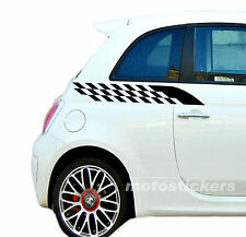 Adesivi nuova Fiat 500 - Tuning Auto Adesivi Auto T29