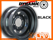 ONE BLACK 4X4 DYNAMIC SUNRAYSIA WHEELS WHEELS 15X8 6/139.7 4WD RIM PATROL HILUX