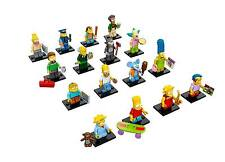 Lego 71005 Minifig Series The Simpsons Set of 16 Free Registered Mail IN STOCK