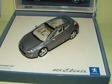 PEUGEOT 407 ELIXIR COFFRET CONCEPT CAR PROTOTYPE NOREV