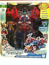 Transformers PRIME Optimus Maximus Cyberverse Factory Sealed ! Lights! Sounds!