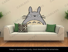 Ghibli Totoro - Head Wall Art Applique Sticker