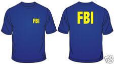 FBI Mens T Shirt Federal Bureau Of Investigation Novelty Regular Fit Cotton tee