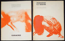 Claude Garache nudes Derriere le Miroir No. 213 and 222 original lithographs