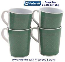 Quest /'Home is where/' Design Caravan VW Melamine Separates OR Sets of 4 Cup Mug