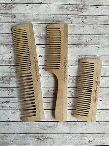 Wooden Comb Professional Prime handmade hair beard mustache Pocket Biodegradable