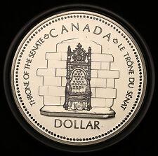 1977 Canada QEII Silver Jubilee  $1 Dollar KM#118 Silver Specimen BU Coin