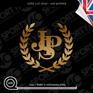 JPS Wreath Vinyl Decal Sticker SMALL John Player Special F1 Mansell 4611-1220