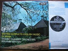 SXL 6405  BRITTEN: CONDUCTS ENGLISH MUSIC FOR STRINGS    BRITTEN / ECO   WB   NM