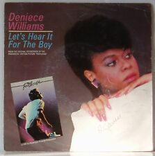 """7"""" Deniece Williams Let's hear it for the Boy Soundtrack Footloose CBS 1984"""