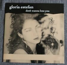 Gloria Estefan, don't wanna lose you / si voy a perderte, SP - 45 tours