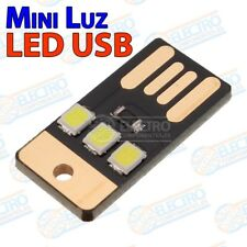 Mini Lampara LED SMD2835 USB Tipo A linterna para bateria externa - Arduino Elec