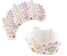 60 x Cupcake Involucri, Bobby Bear & Amici Bambini Decorazioni per Cupcake Wraps