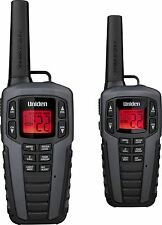 Uniden Sx377-2ckhs 37-mile 2-way Frs/gmrs Radios [gray] (sx3772ckhs)