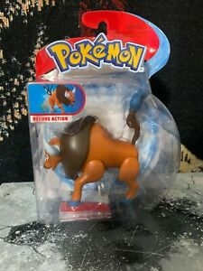 Pokemon TAUROS - Battle Feature Action Figure - Wicked Cool Toys