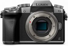 Panasonic Lumix DMC-G7 4K Mirrorless Camera Silver Body ONLY 164 ACTIVATIONS!!