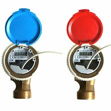 "1"" FERRO SMART WATER METER WITH REED SWITCH PULSE EMITTER  6.3m3/h ANTIMAGNETIC"