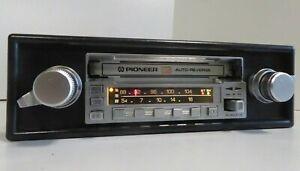 Retro 1980s Pioneer KE-4000SDK MW/FM Tape Cassette Car Radio Ferrari