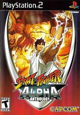 Street Fighter Alpha Anthology [Sony PlayStation 2 PS2 Capcom Fighting Ryu] NEW