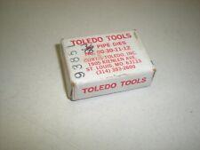 """Toledo Tools 00-30-11-12  - 3/8"""" Pipe Thread Dies"""