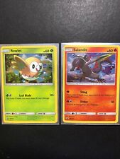 SM Black Star Promo NM-Mint English Pokemon Rowlet SM153