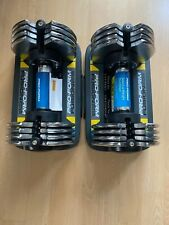 BRAND NEW ProForm 50 Lb. Adjustable Dumbbell Weights Compact Storage Tray Pair